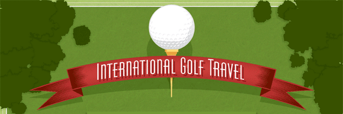 International Golf Travel: Going Beyond Par Infographic