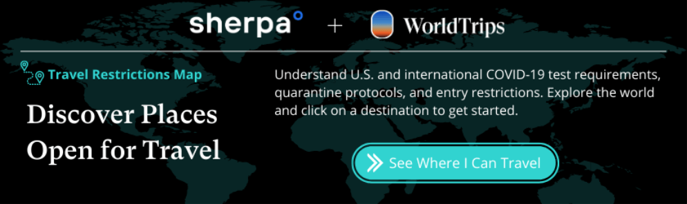 Sherpa and WorldTrips Banner